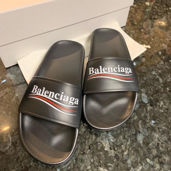 e991c37e09c8 Balenciaga slides size 37